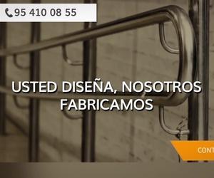Escaleras de acero inoxidable en Sevilla | Aceros Guadaira