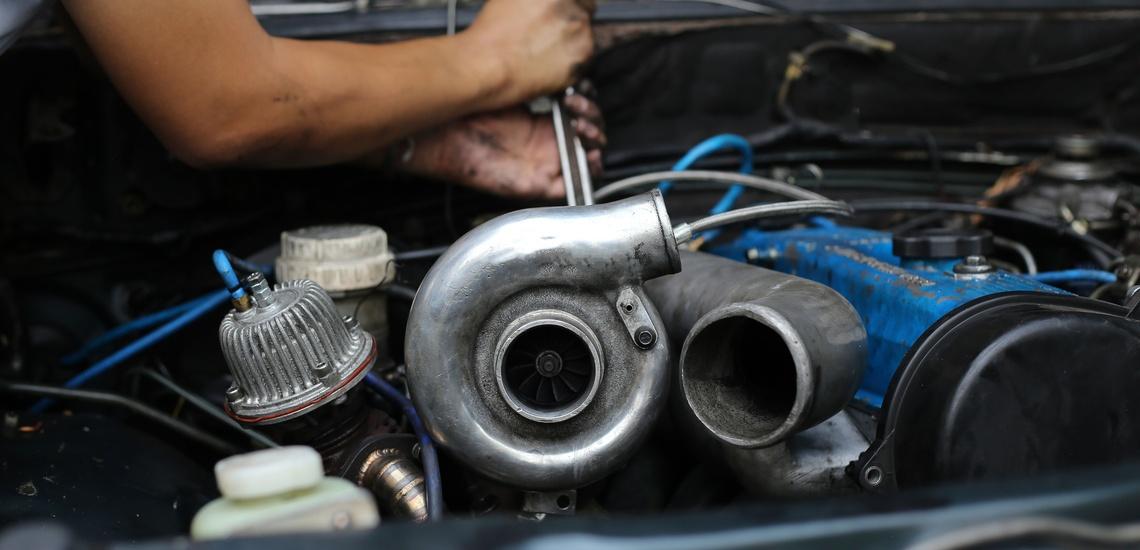 Rectificado de motores en El Hierro arreglando un turbo