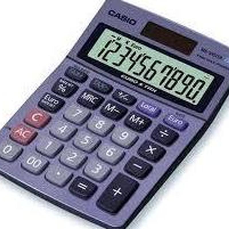 Calculadora CASIO MS-100TER