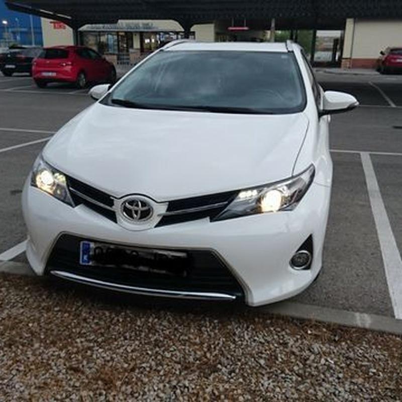 Toyota Auris: Servicios de Grupo Carsan