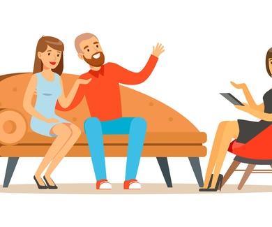 Proceso en una terapia de pareja