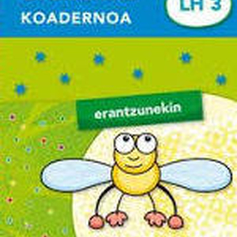 Oporretako koadernoa 3 (Erantzunekin) Ed. IKASELKAR 9788497838849