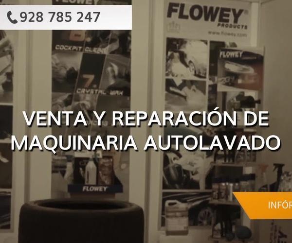 Máquina de autolavado en Las Palmas | ID Autolavados
