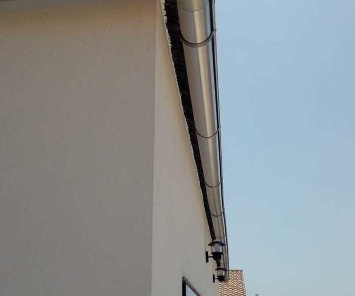 Canalones de zinc Alicante