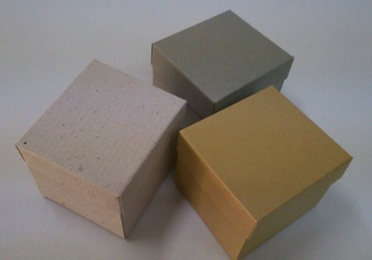 DIE-CUTTED BOXES 10X11X9 CM.
