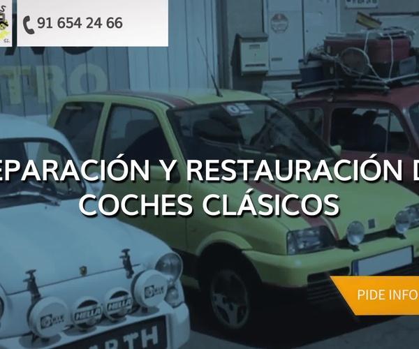 Restauración de coches clásicos en Madrid norte | Autos Guadalcanal