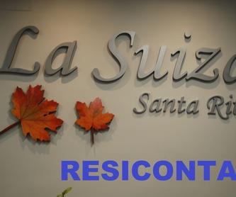 Servicios específicos: Nuestra residencia de Residencia para la tercera edad La Suiza Santa Rita