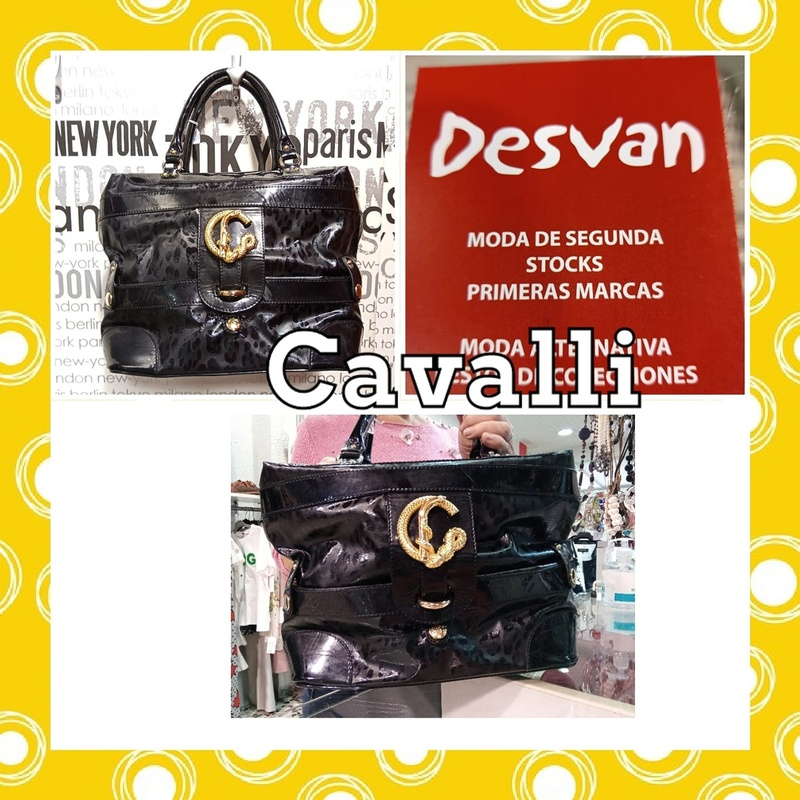 Bolso de Roberto Cavalli: Catálogo de Desván Moda Segunda Mano