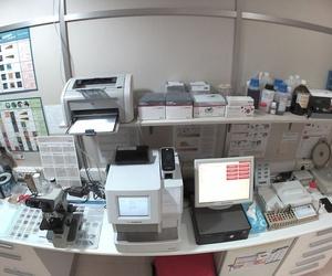 Laboratorio de nuestra clínica veterinaria en Mataró