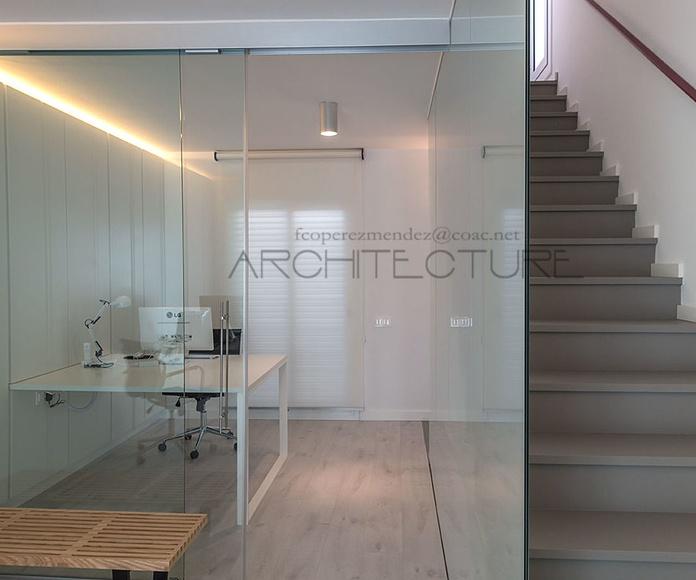 Study Home .   House MxM.   Architect Sitges.  FPM Studio .Barcelona.-: Proyectos  architectsitges.com de FPM Arquitectura