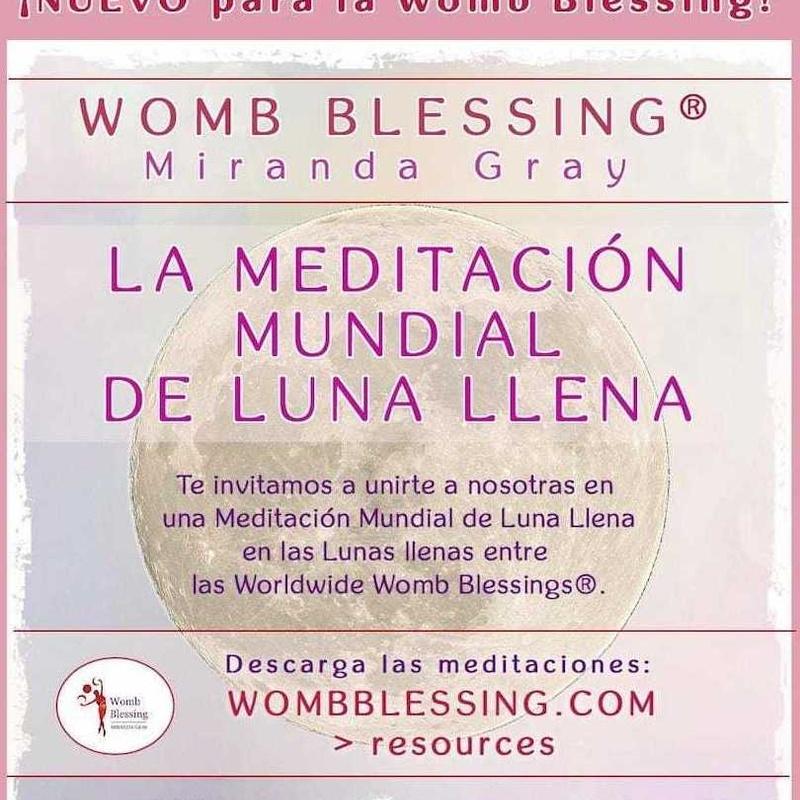 Círculos de meditación del Rayo de Luna Llena: TERAPIAS Y EVENTOS de Todo Es Vibra