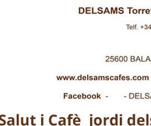 Galería de Café en Balaguer | DELSAMS Torrefacció Artesana de Cafès
