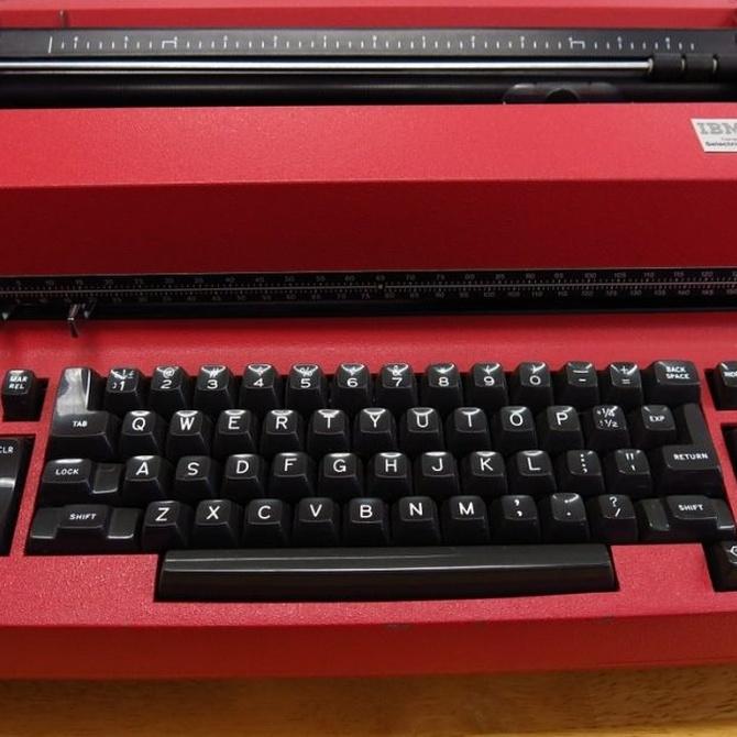 La máquina de escribir eléctrica