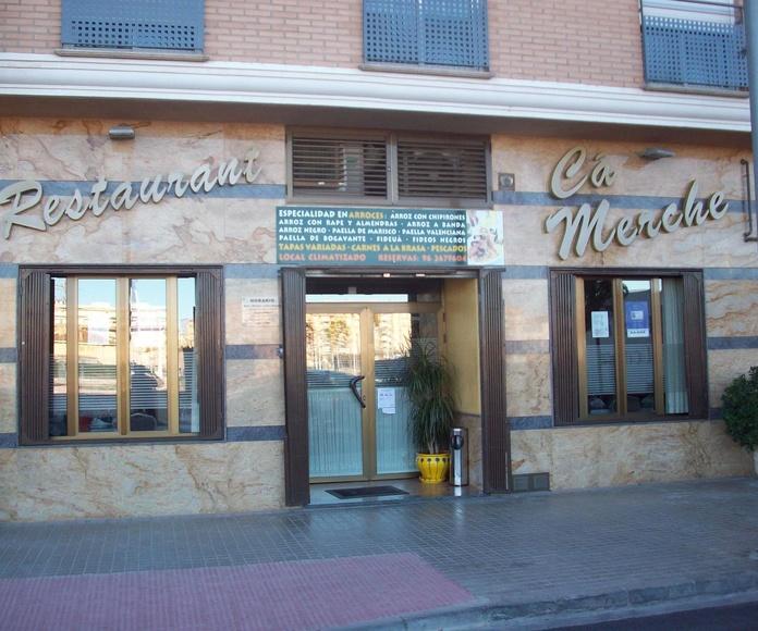 Restaurante Ca'Merche Sagunto