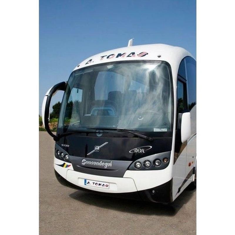 Nacional e internacional: Servicios de Autobuses A. Tomás