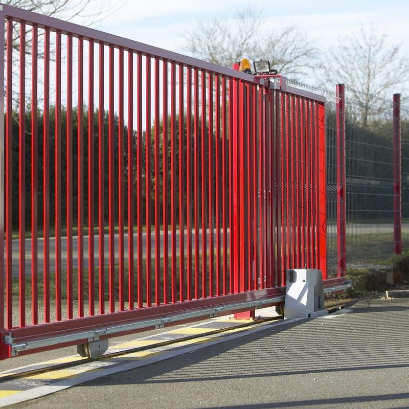 portón corredero