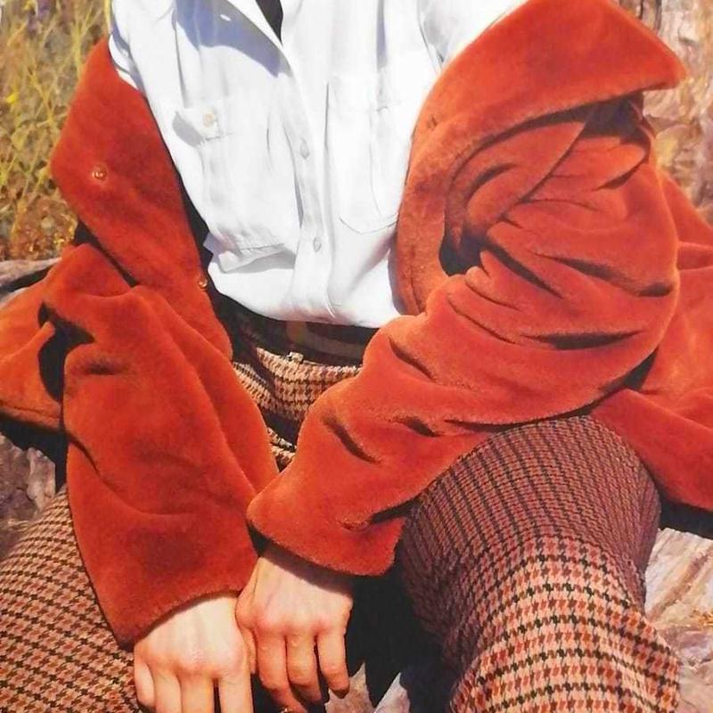 Pantalón de cuadros pitillo: Catálogo de Manuela Lencería