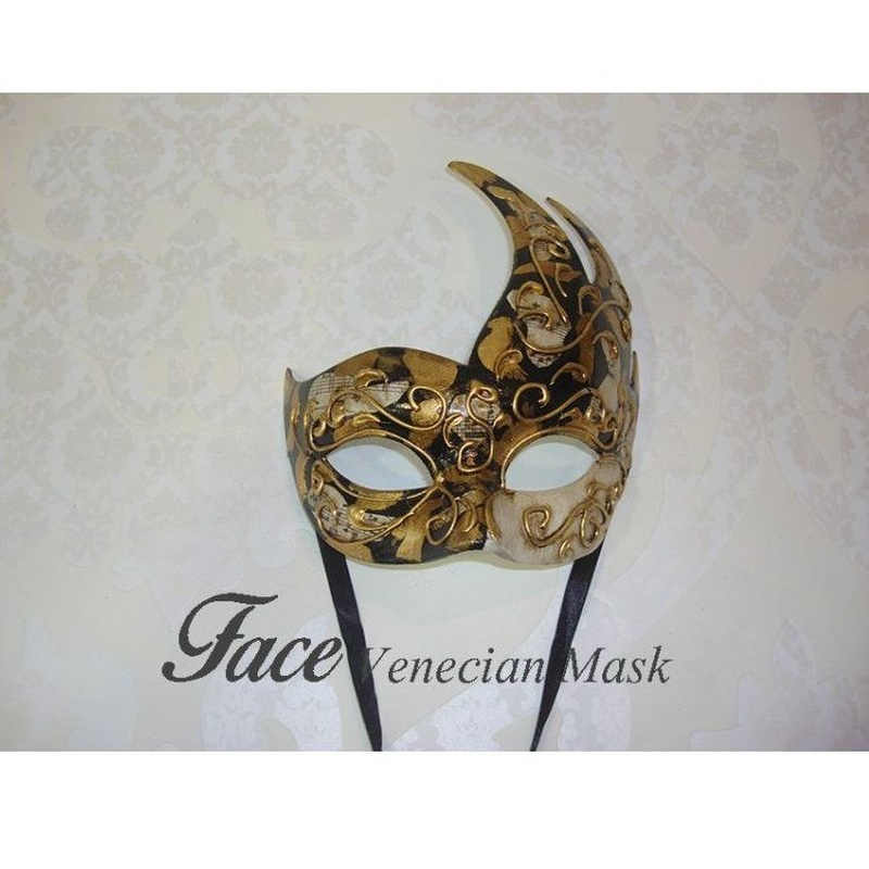 Antifaz cigno: Máscaras y antifaces de Face Venecian Mask