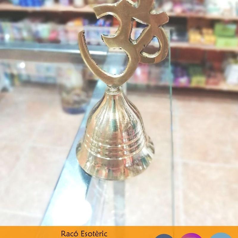 Campana símbolo OM: Cursos y productos de Racó Esoteric Font de mi Salut