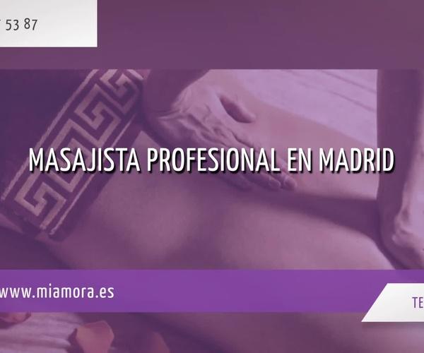 Masajes relax en Madrid centro: Mía Mora
