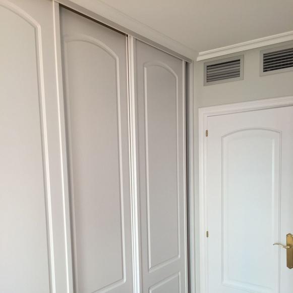 Pintores Zaragoza -Rulato: semi-lacado de puertas