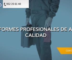 Uniformes de trabajo en Málaga | Uniformes del Sur