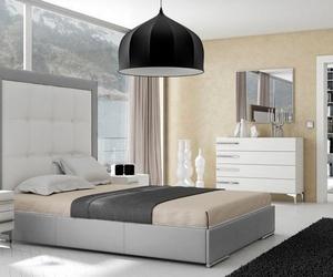 Cama tapizada en Piel Luxe con canapé abatible de base tapizada, ultima unidad.
