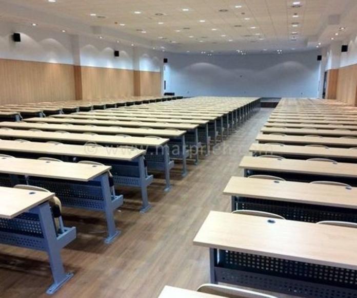 Instalación Aulas Universidad de Cordoba