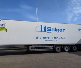 Rotulación caja de camión frigorífico