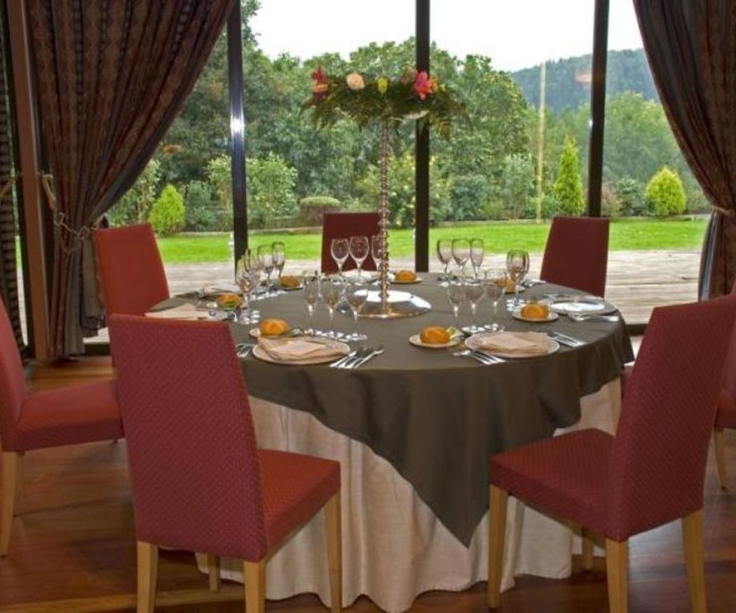 Un salón de bodas espectacular