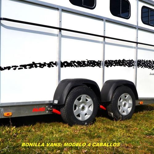 Remolques de caballos de alta gama.