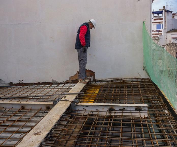 En Construccion,  Nueva Losa de Hormigón