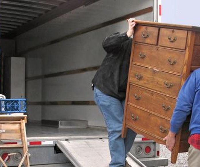 Muebles: Prestaciones de Mudanzas Ceballos