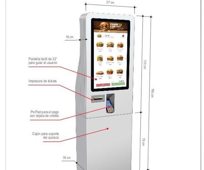 T-Quiosk: Productos de Discove
