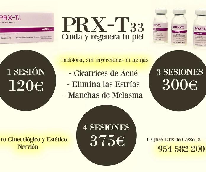 Cuida regenera tu piel con PRX-T33