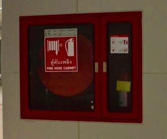 Sistema de abastecimiento de agua: Material contra incendios de Xetames S.L.