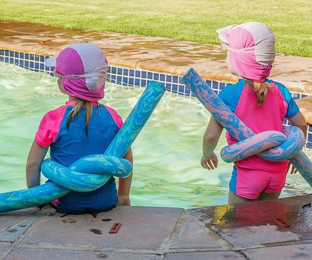 La edad para que los niños empiecen a nadar