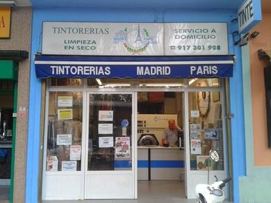 Tintorerías Madrid París ahora también en el Barrio del Pilar