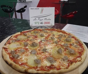 Carta de pizzes