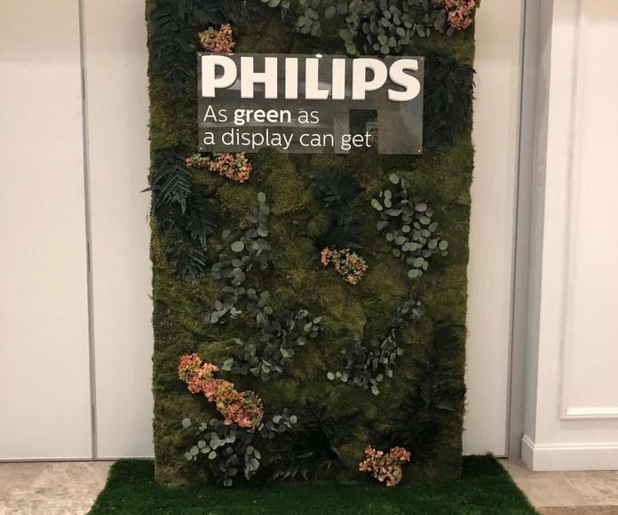 Evento philips musgo seco con relieves