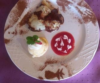 """Menú 1 """"Pica Pica Sabroso"""": Nuestro platos de La Mirada Profunda"""