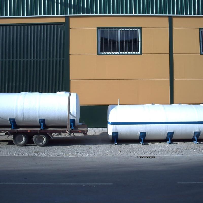 Cisterna: Catálogo de productos de Poliéster La Zarzuela