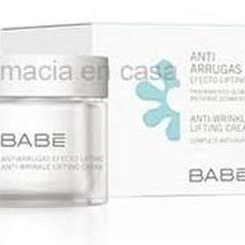 Babe Antiarrugas efecto lifting: Catálogo de Farmacia Las Cuevas-Mª Carmen Leyes