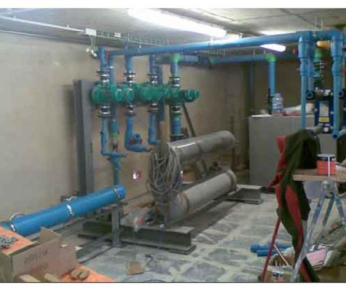 Instalación de calefacción: Servicios de Fontanería Tavio
