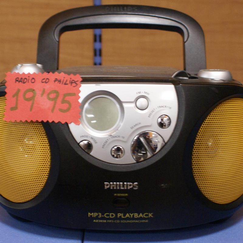 Radio CD PHILLIPS: Catalogo de Ocasiones La Moneta