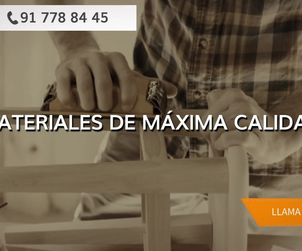Carpintería y ebanistería en Madrid | Carpintería David Moya