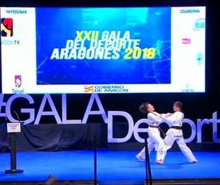 Pantallas Movidic en la XXII Gala del Deporte Aragonés 2018