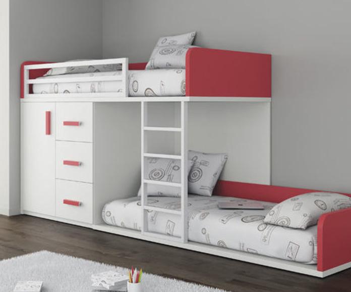 FABRICANTE ROS literas y trenes: Catálogo de muebles y sofás de Goga Muebles & Complementos