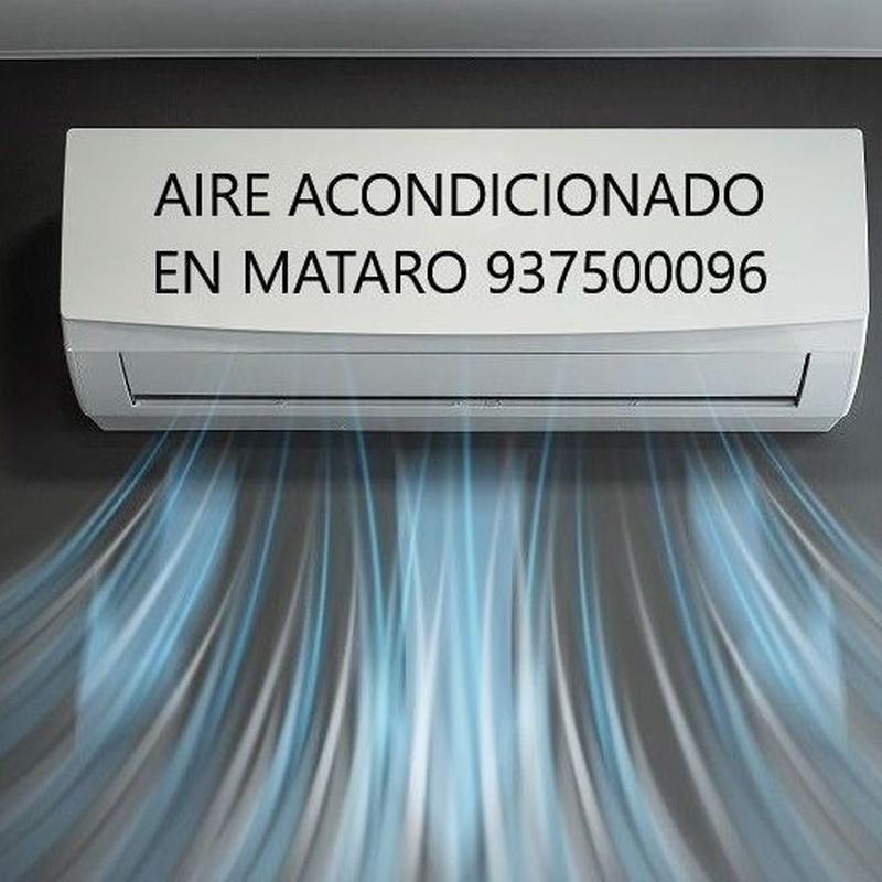 Climatización en Mataró 937500096.