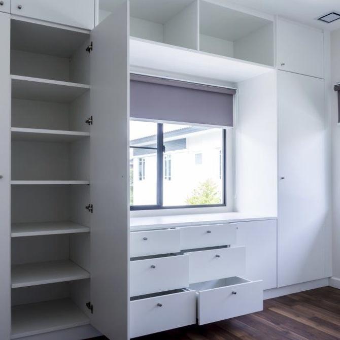 Personaliza los armarios de tu casa